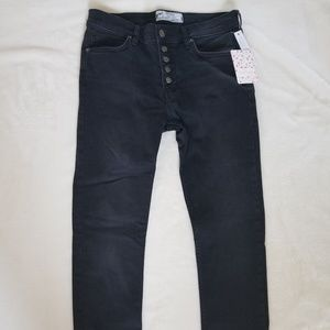 NWT Free People Reagan Skinny Crop Jeans Size 27